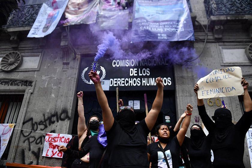 CNDH-okupa-feminista